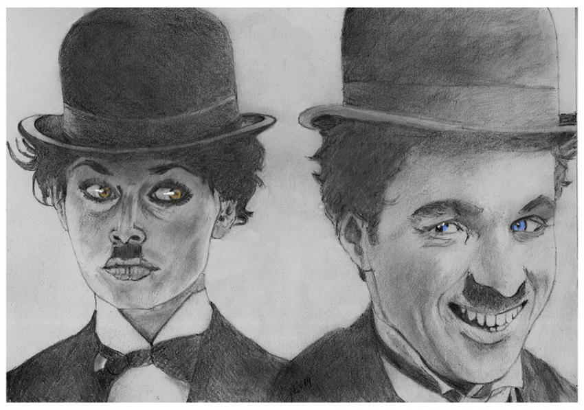 Charlie Chaplin by nev777